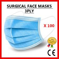 Disposable Surgical Face Mask - 100 Units