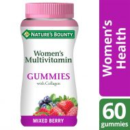Nature's Bounty Women's Multivitamin Gummies with Collagen - Mixed Berry - 60 Pack